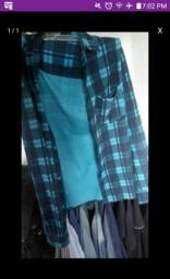 Blusa top poucas vezes usada