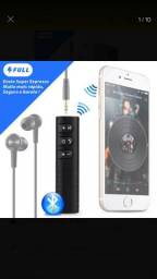 Adaptador bluetooth universal android e Iphone!