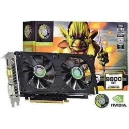 Placa de Video Nvidia GeForce GT 1Gb 256-bit Gddr3 (Nova na Caixa)