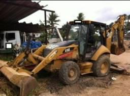 Retro Escavadeira Caterpillar 416E
