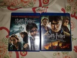 Harry Potter Blu-ray Disc (RMP1&2) comprar usado  Rio Branco