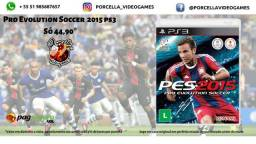 Jogo PES 15 ( Pro Evolution Soccer ) Original Midia Física para Playstation 3