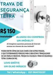 Instalaçao fechadura chaves segredo apartamentos casas lojas olho magico comprar usado  Rio de Janeiro