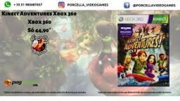 Jogo Kinect Adventures Original Midia Física para Xbox 360 comprar usado  Porto Alegre