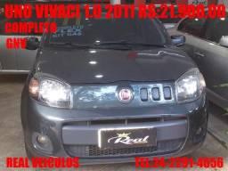 Uno Vivace Celebration 1.0, 2011, Com gnv, muito nova, aceito troca e financio - 2011