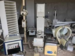 Vendo máquinas de radiografia para retirada de peças estão paradas a alguns meses.