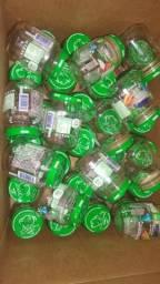 Potinhos de papinha de vidro 36 unidades 1 real cada