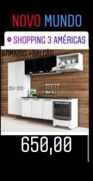 ARMARIO de cozinha + BALCÃO
