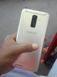 Samsung A6+ 64gigas novo