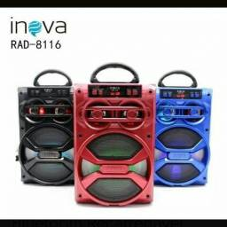 Rádio portátil inova
