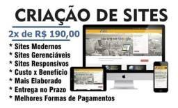 Criação de Sites / 2x de R$ 300.00