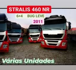 Stralis 460 6X4 2011. Único Dono. Bug Leve