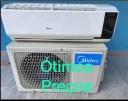 Instalação, manutenção e Higienização de Ar condicionado *