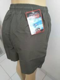 Shorts com (3)bolsos, com forro Tactel, várias cores, tamanhos, grande, médio e pequeno.