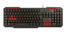 Teclado Gamer Multilaser Com Hotkeys Multimídia Slim Preto/Vermelho - TC242 20