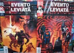 Kit de 2 Volumes em HQ do Evento Leviatã.