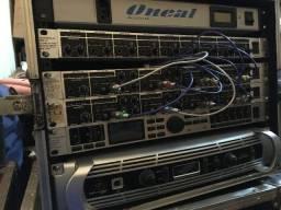 Amplificador de potência estéreo inuke 6000DSP com DSP / USB
