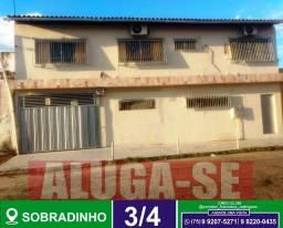 Casa 3/4-Para Moradia ou Comércio-No Sobradinho-Ótima localização-Feira de Santana-BA