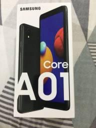 Celular novo A01 Core