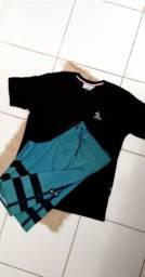 Qualquer conjunto de camisa peruana com short jeans ou elastano R$70,00