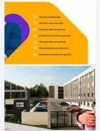 Lazer completo 2 Qtos C/ Varanda Águas Lindas GO Park Clube Cidade Jardim