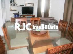 Casa de vila à venda com 3 dormitórios em Rio comprido, Rio de janeiro cod:MBCV30042
