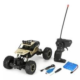 Brinquedo controle remoto 4x4 carrinho