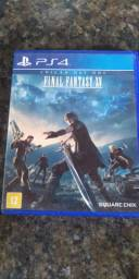 Jogo final fantasy XV PS4 mídia física