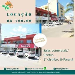 Aluga-se salas comerciais no Centro de Ji-Paraná
