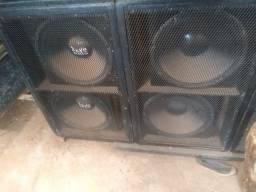 Vendo 2 caixa de som de altifalante de 18 $1500