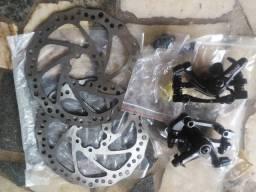 Kit Freio A Disco Bicicleta mecânico R$ 110,00
