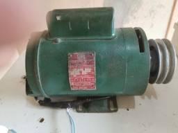 Motor weg 1 CV  3520 rpm polia de aluminio