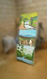 Pinturas em telas Paisagens