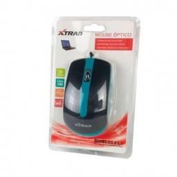 Título do anúncio: Mouse Optico Com Fio Xtrad XD-602