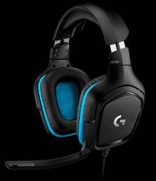 Headset gamer Logitech G432 7.1