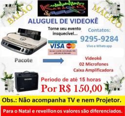 Buffet Infantil / Karaokê / Brinquedos e Barraca de Pipoca e Algodão Doce