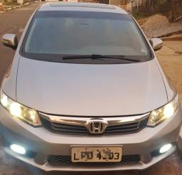 Honda Civic EXS 12/13 top da categoria