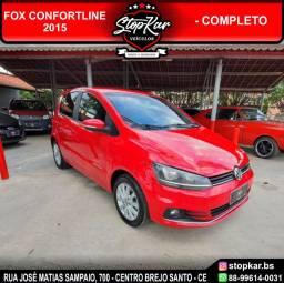 Fox Confortline 2015 - Vermelho - IPVA 2021 em Aberto