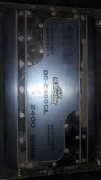 Vendo potência B.Buster 2400 watts