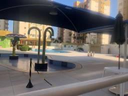 Apartamento á venda 2 quartos Jardim das thermas em Caldas Novas