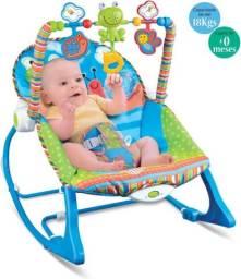 Cadeira Descanso Musical Funtime Maxi Baby Até 18kg - Azul