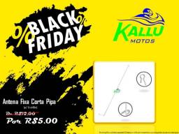 Antena Fixa Guidao moto Black Friday