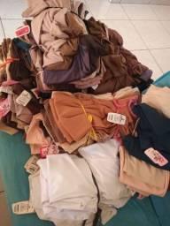 Atacado todas estas roupas infantil P M G GG femenina 560. Peças