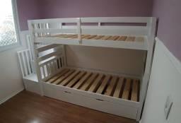 Título do anúncio: Somos fabricantes de cama montessoriana e beliches