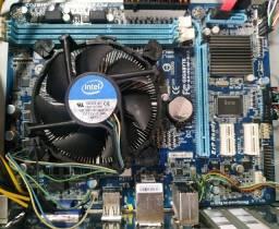 Kit Upgrade Intel I7 com video integrado + Placa mãe Gigabyte + 8GB