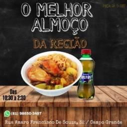 Almoço executivo a partir de 10 reais