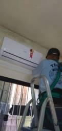 Técnico ar condicionado split