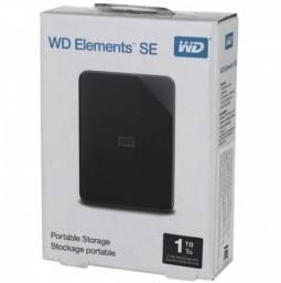 "HD Externo 1TB 2.5"" Wd Elements USB 3.0 - Loja Dado Digital"