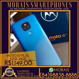 (LACRADO+NOTA) Motorola E7 Plus 64Gb (AZUL)