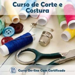 Curso - Corte e Costura / com Certificado